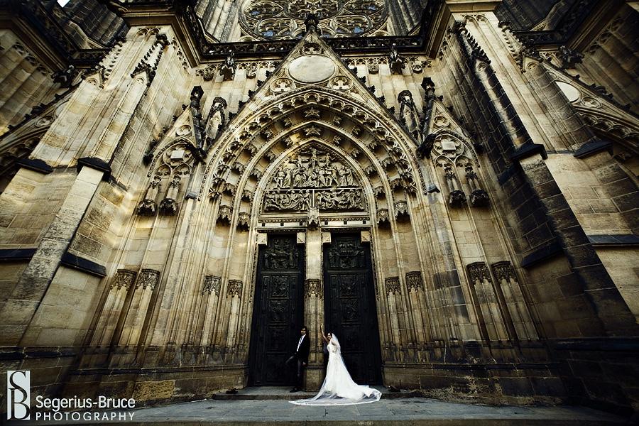 Prague Castle Wedding