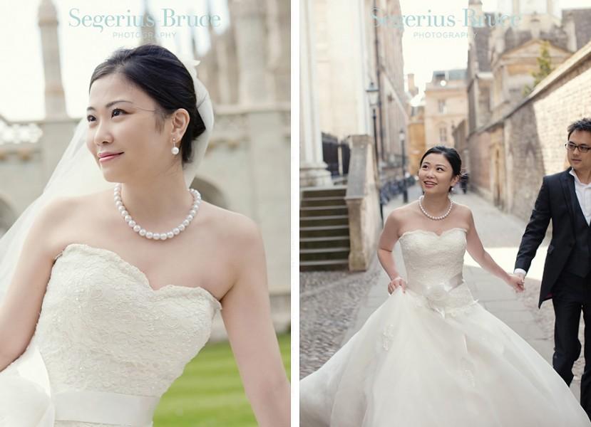 Chinese pre-wedding engagement Shoot Cambridge