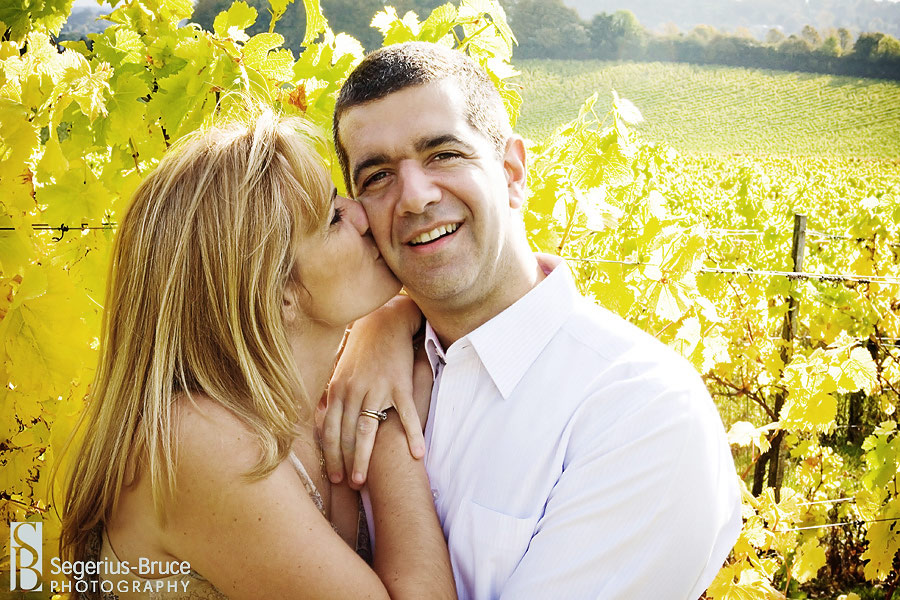 Denbies Vineyard wedding photographer