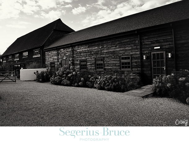 Gatestreet Barn Surrey Wedding Reception Venue