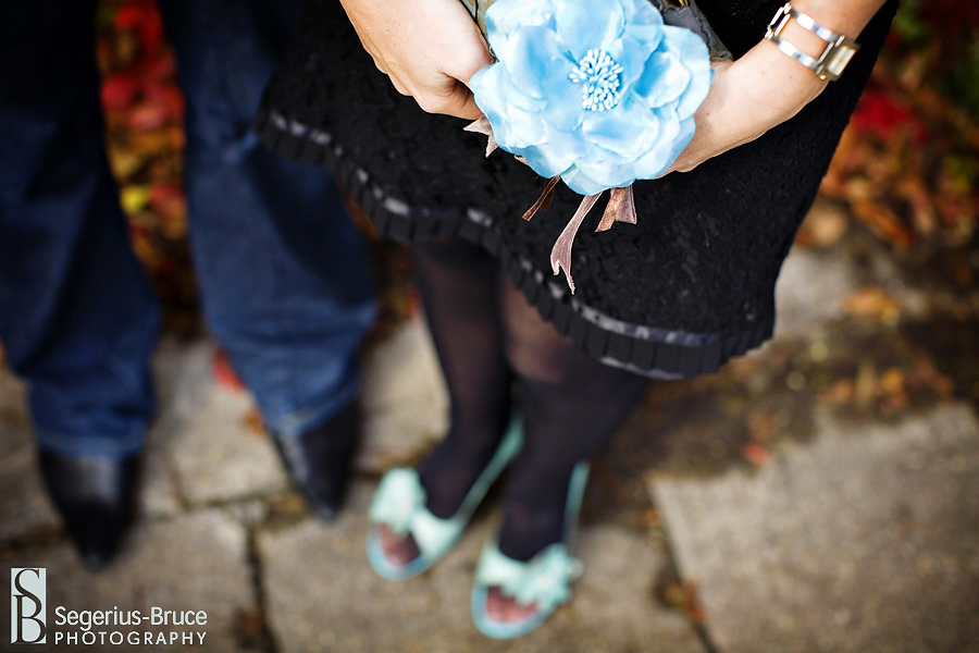 Quirky style engagement session around Camden Lock, London