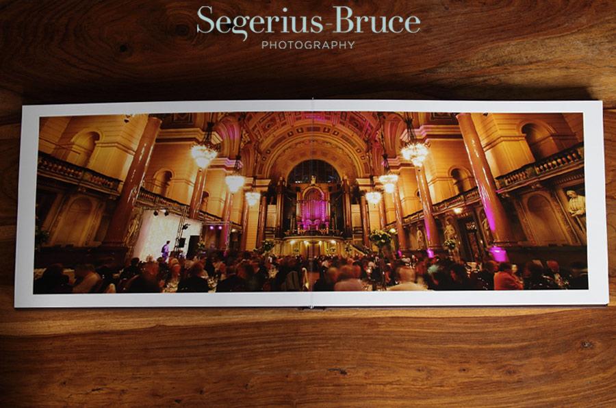 Digital Coffee table wedding album by Segerius Bruce Photography