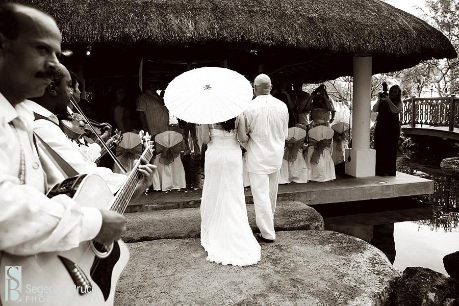 The Hilton Hotel Mauritius wedding venue