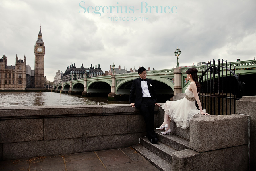 Overseas Pre wedding shoot London