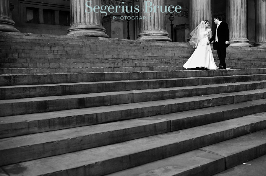 Wedding at St Georges Hall Liverpool
