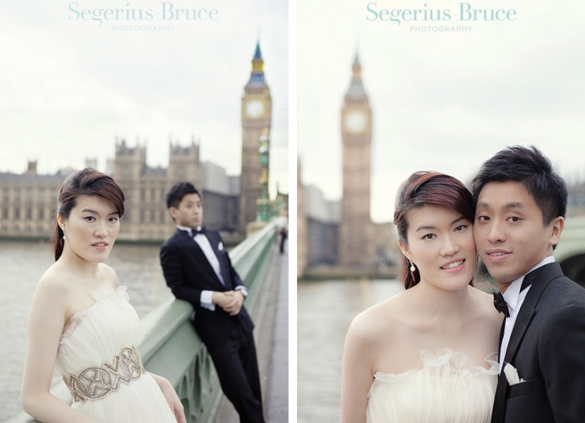 Big Ben London Pre Wedding Engagement Session
