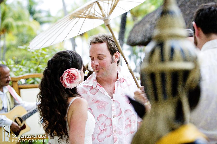 Island beach wedding Destination Mauritius