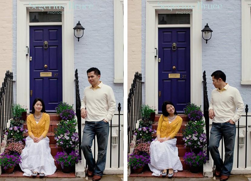 Overseas Pre-Wedding Shoot London