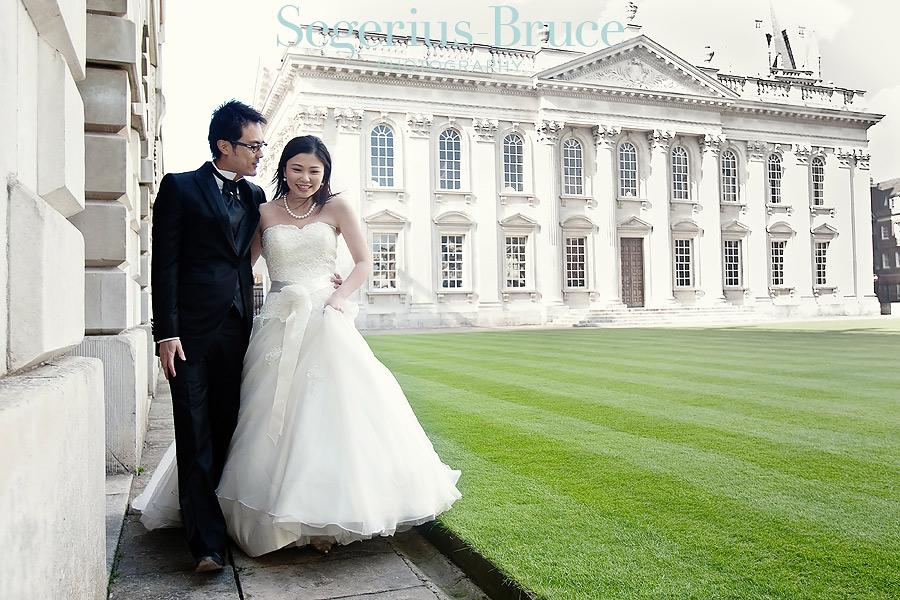 Overseas pre Wedding Shoot Cambridge