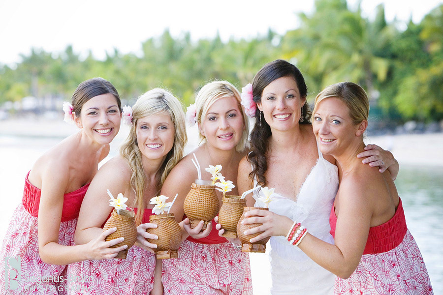 Destination wedding held in Mauritius at The Hilton Hotel