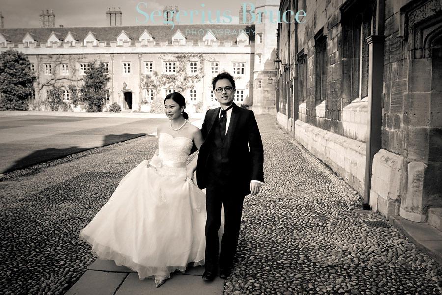 King's College Cambridge Wedding Photographer