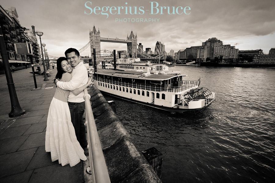 Overseas London Pre Wedding Shoot