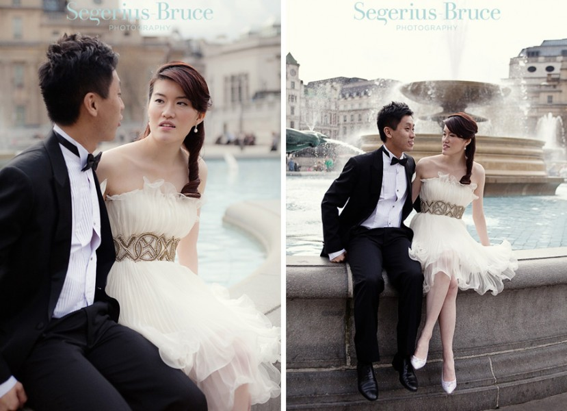 Overseas Chinese Pre Wedding Shoot