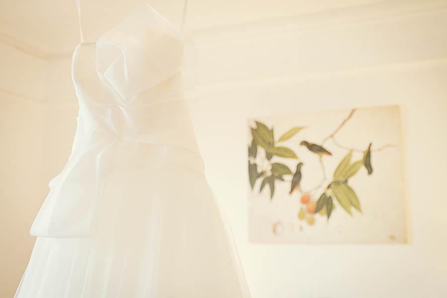 Wedding dress by David Fielden for Sposa