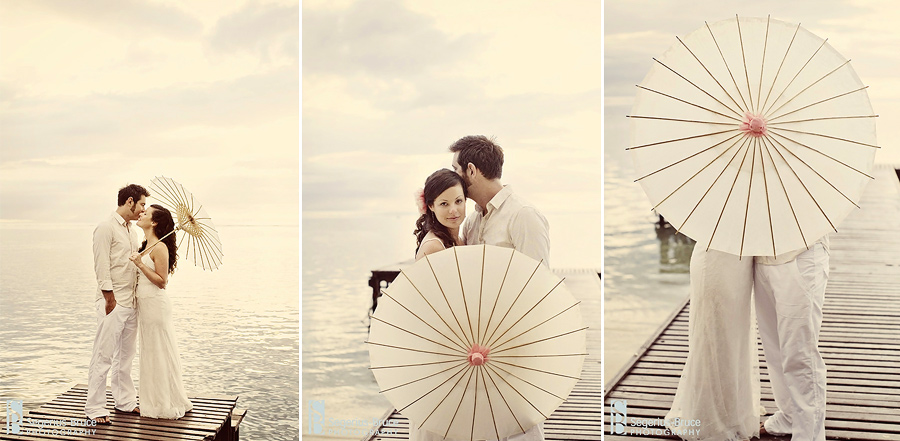 Destination wedding photography in a vintage style