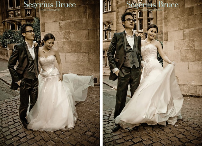 Overseas Pre-Wedding Engagement Shoot Cambridge