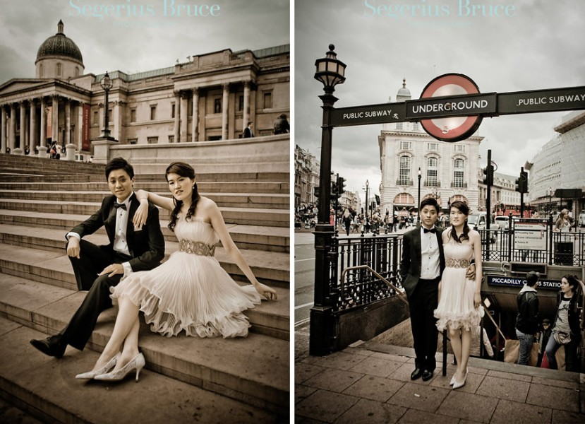 London Pre Wedding Shoot