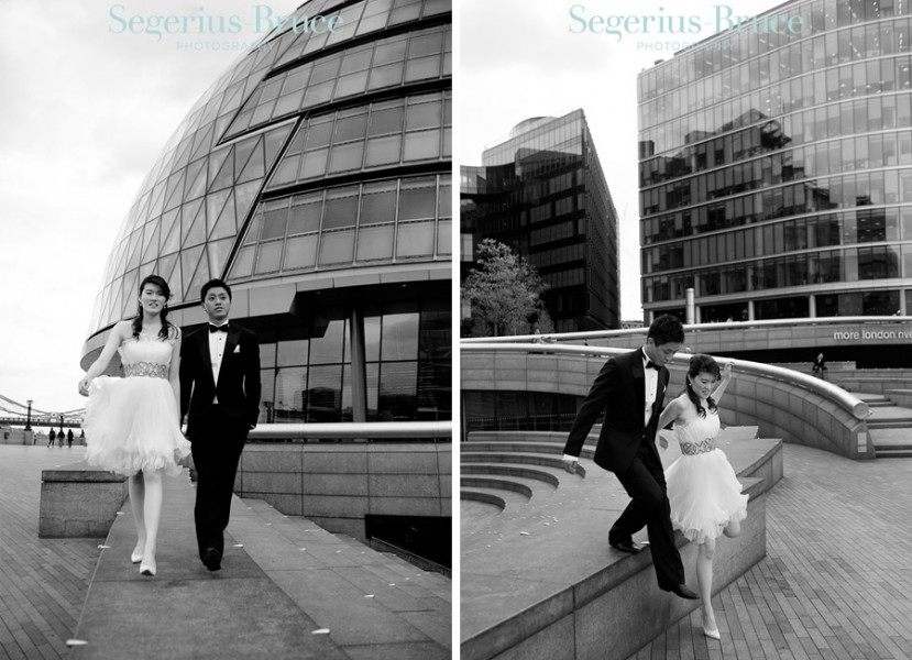 London Pre Wedding Engagement Shoot