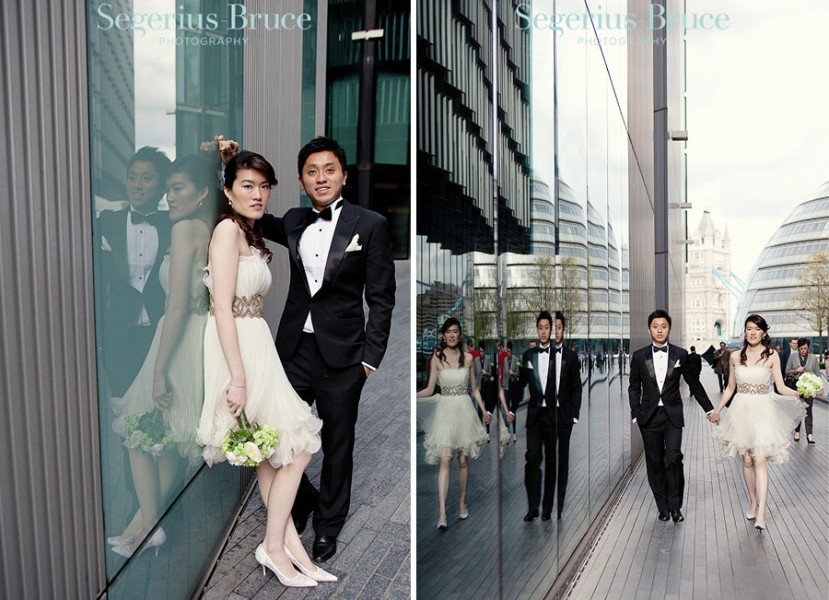 Chinese Pre Wedding Shoot London