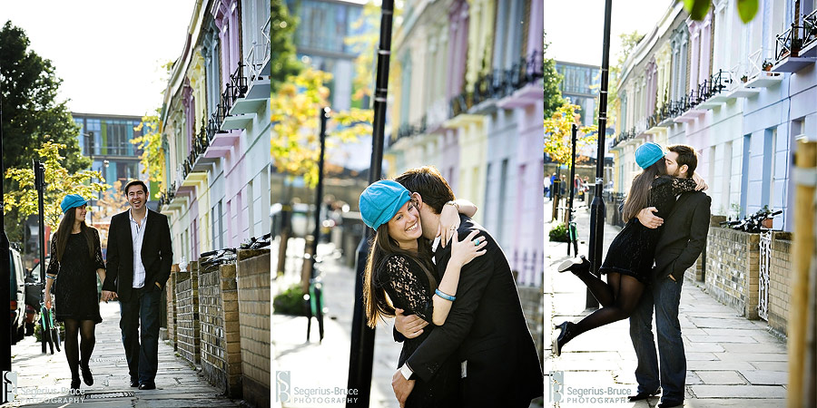 Segerius Bruce Photography pre-wedding engagement session London