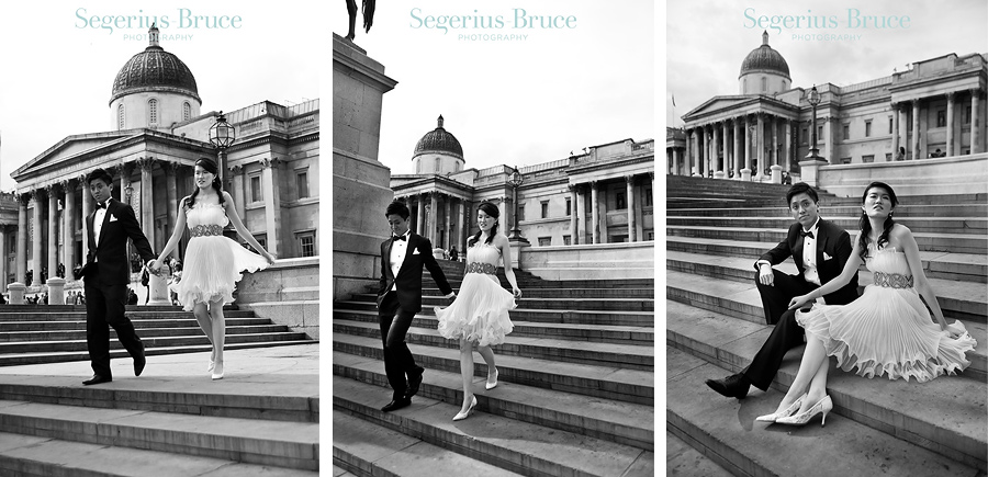 Editorial style pre wedding shoot