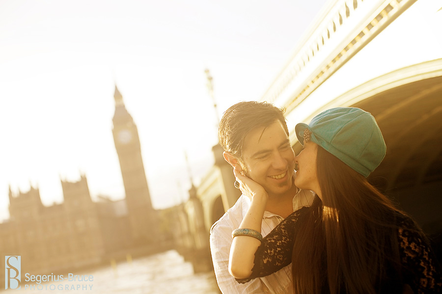Segerius Bruce Photography pre-wedding session with Big Ben in london