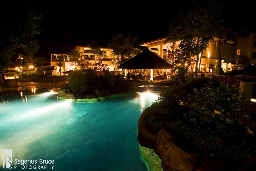The Hilton Hotel in Mauritius, wedding venue