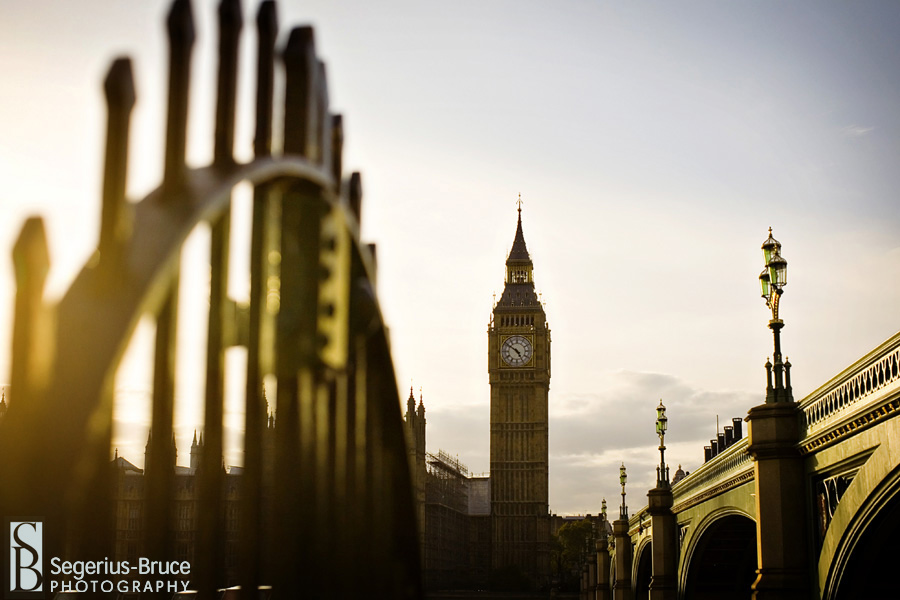 Big Ben London by Segerius Bruce Photography