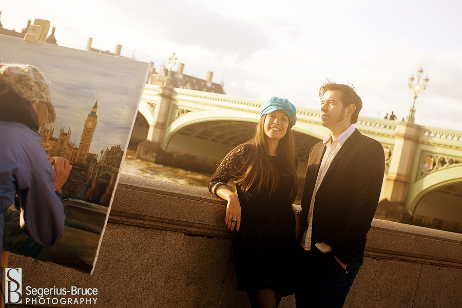 Pre-Wedding Engagement session in London with Big Ben