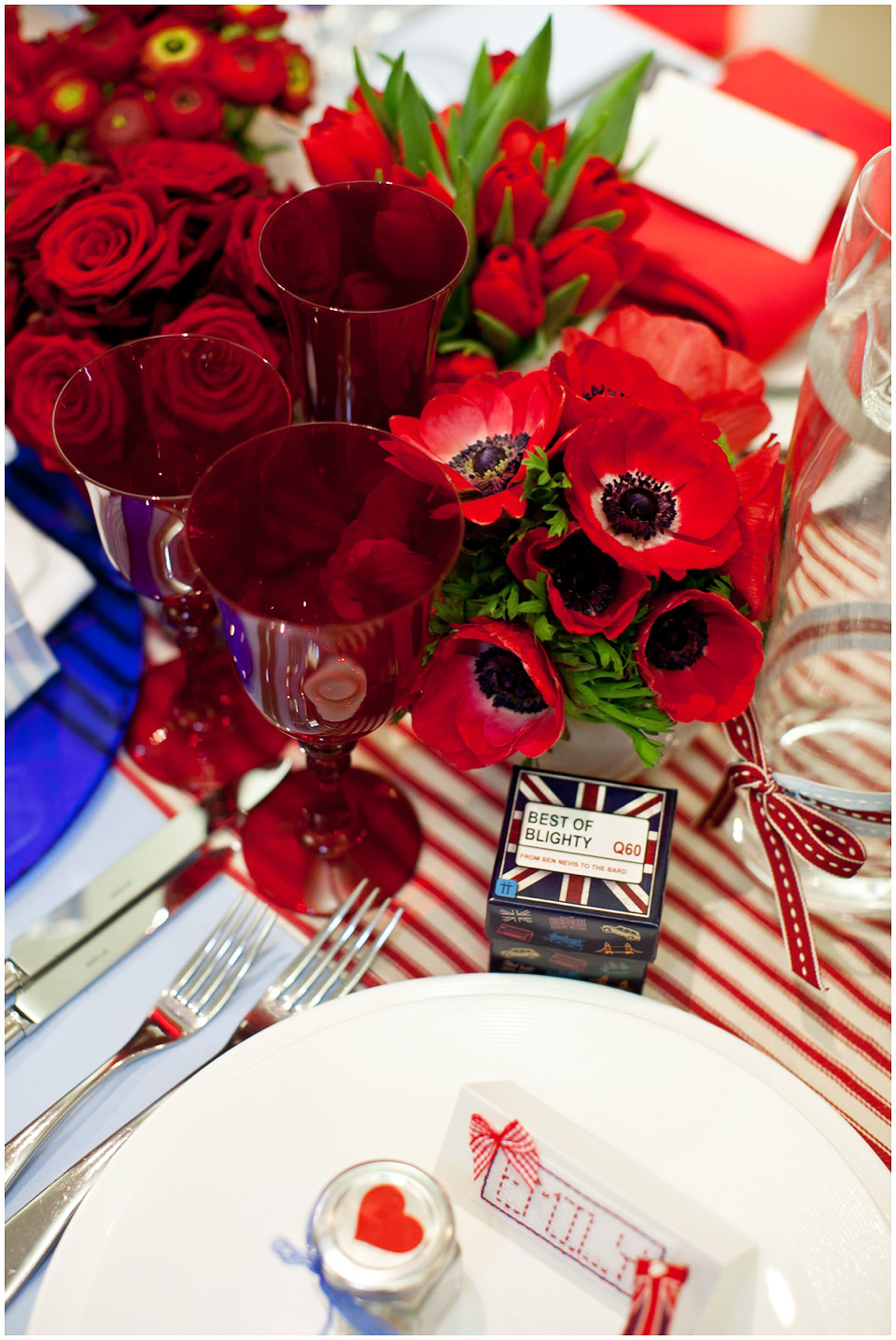 British Themed Wedding and Party Decoration ideas (2)