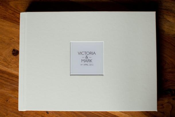 Cream Leather UK Wedding Album (1)