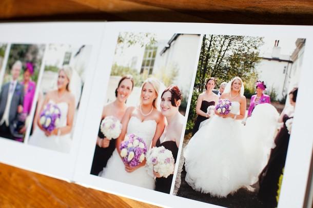 Cream Leather UK Wedding Album (6)