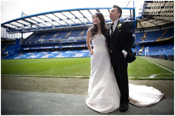 London Pre Wedding Shoot featuring  Chelsea Football Club (16)