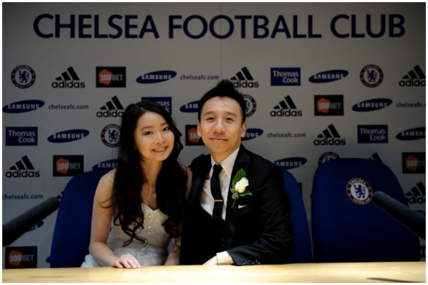 London Pre Wedding Shoot featuring  Chelsea Football Club (18)