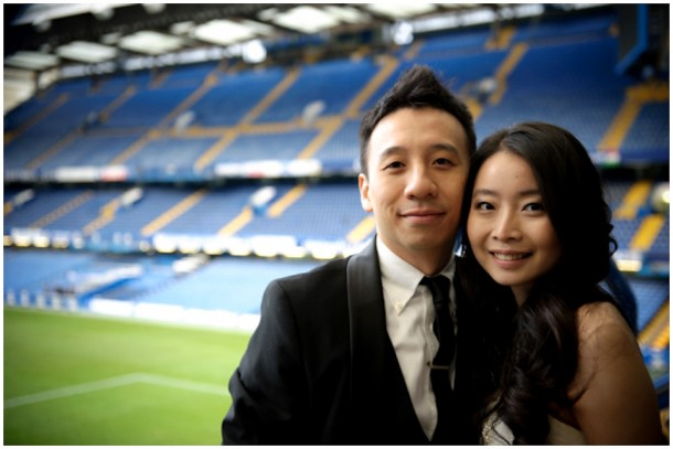 London Pre Wedding Shoot featuring  Chelsea Football Club (19)