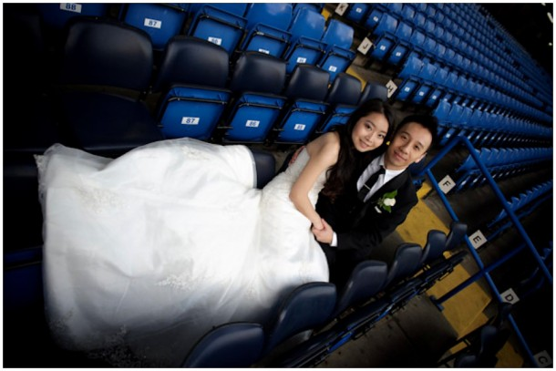 London Pre Wedding Shoot featuring  Chelsea Football Club (20)