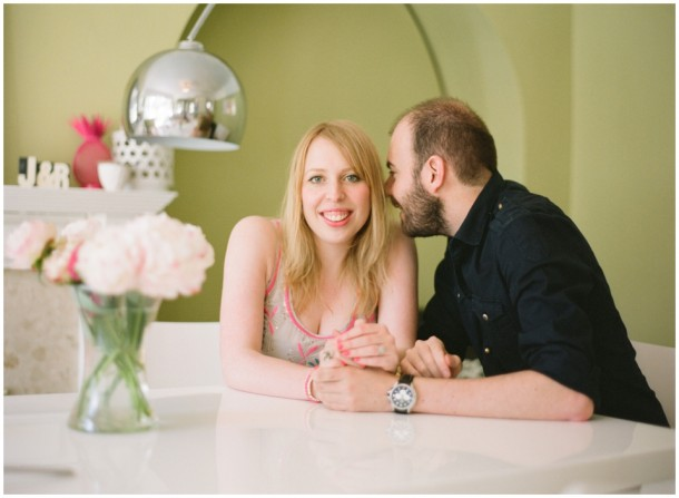 Engagement Pre Wedding on Film Contax 645 UK, Surrey, London (8)