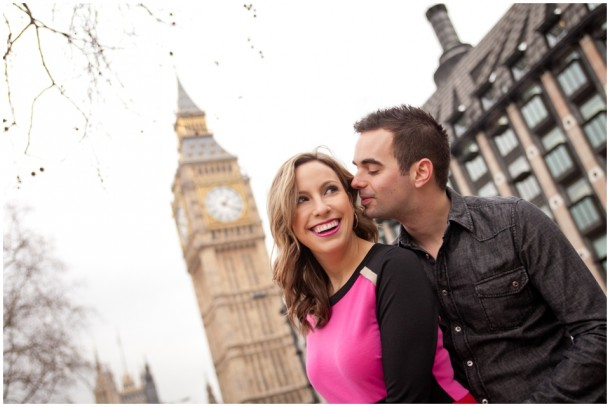 A London Pre Wedding Engagement shoot with colour blocking (1)