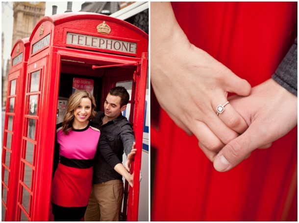 A London Pre Wedding Engagement shoot with colour blocking (2)