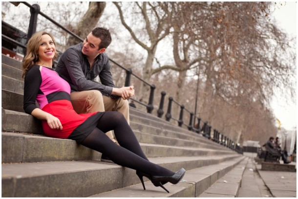 A London Pre Wedding Engagement shoot with colour blocking (3)