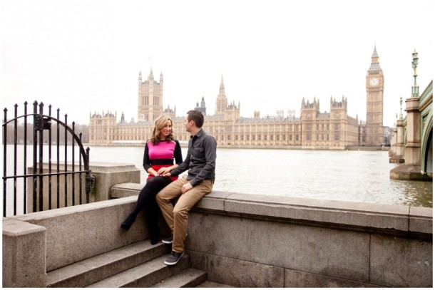A London Pre Wedding Engagement shoot with colour blocking (4)