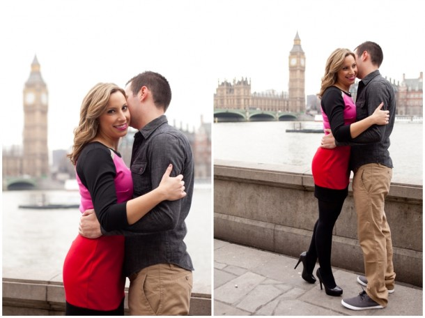 A London Pre Wedding Engagement shoot with colour blocking (5)