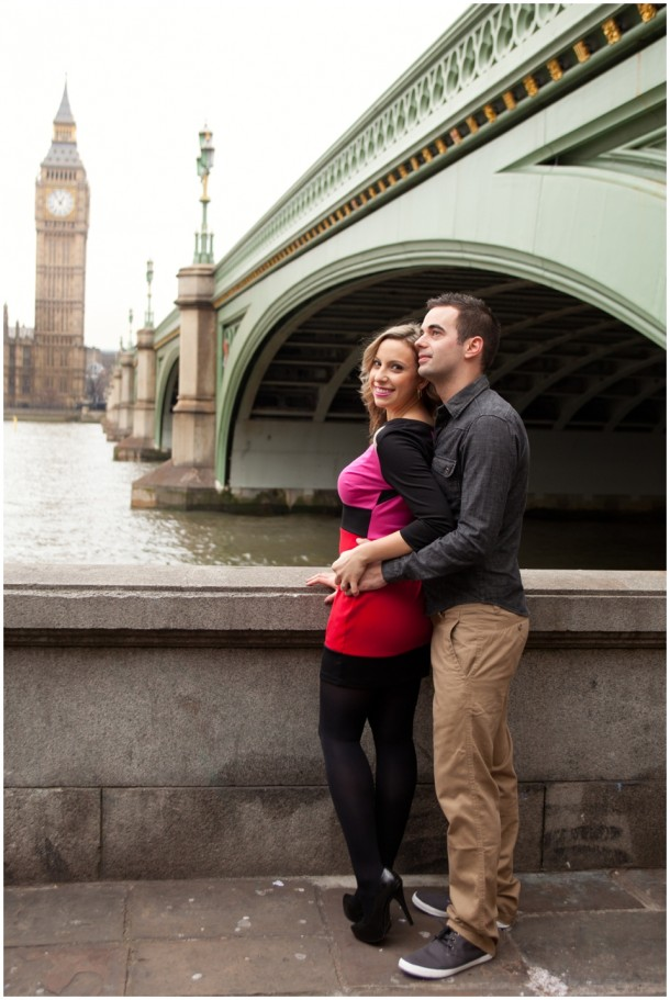 A London Pre Wedding Engagement shoot with colour blocking (6)