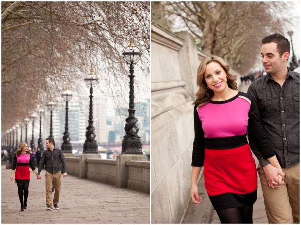 A London Pre Wedding Engagement shoot with colour blocking (8)