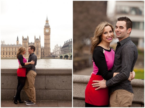 A London Pre Wedding Engagement shoot with colour blocking (10)