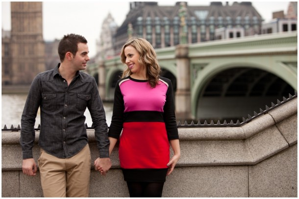 A London Pre Wedding Engagement shoot with colour blocking (11)