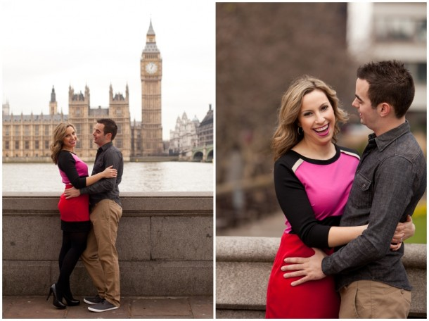 A London Pre Wedding Engagement shoot with colour blocking (12)