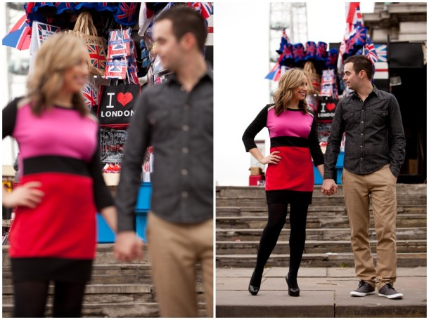 A London Pre Wedding Engagement shoot with colour blocking (13)