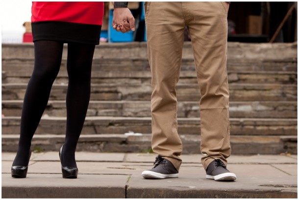 A London Pre Wedding Engagement shoot with colour blocking (14)