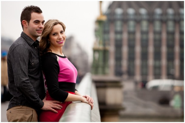 A London Pre Wedding Engagement shoot with colour blocking (15)